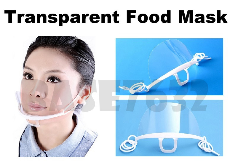 Reusable Food Fog Saliva Sanitary Price Anti Mask 1566 Malaysia In Hygiene Transparent 1 Best