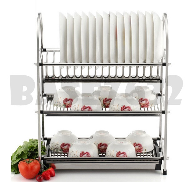 78cm Large 3 Tier Stainless Steel D End 11 16 2019 8 49 Pm